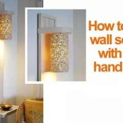 Living Room Wall Lights Ideas Sears Curtains For Small Lighting How To Make A Lamp Sconce Home Decor