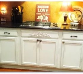 Antiqued Kitchen Cabinets  Hometalk