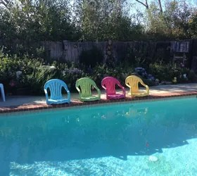 Plastic Pool Chairs
