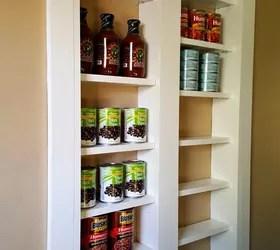 pantry between the studs | hometalk
