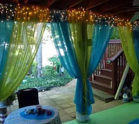 16 Unexpected Ways To Use Christmas Lights This Summer