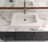 Updating an Old Bathroom Vanity | Hometalk