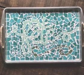 mosaic cookie sheet serving tray hometalk
