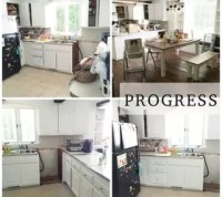 Rustic Farmhouse Kitchen Makeover
