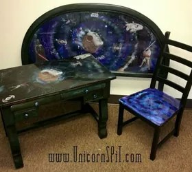 painted round kitchen table vinyl floor tiles 15 magical furniture flips using nothing but unicorn spit ...