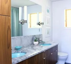 This Bathroom Got a MidCentury Modern Flip  Hometalk