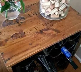 can you put a wine rack in living room show me pictures of designs upcycle racks into an end table hometalk thrift store how to ideas painted