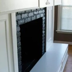 How To Decorate A Living Room With Fireplace Grey Carpet 10 Gorgeous Ways Transform Brick Without ...