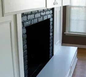 10 Gorgeous Ways to Transform a Brick Fireplace Without Replacing It  Hometalk