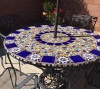 Mosaic Tile Patio Table | Hometalk