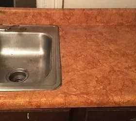 How To Remodel A Laminate Countertop Look Like Stone Hometalk