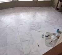 Faux Marble Flooring | Hometalk