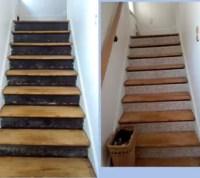 Stair Risers + Wallpaper Border   Hometalk