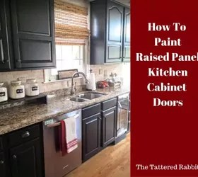 raised panel kitchen cabinets brushed nickel lighting how to paint cabinet doors hometalk