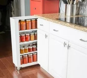 how to add a pantry your kitchen island bar more space with these brilliant hacks hometalk s closet or build own