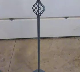 Repurpose an Old Standing Floor Lamp Into a Plant Stand