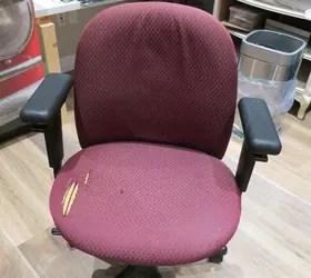 Reupholster an Office Chair  Hometalk