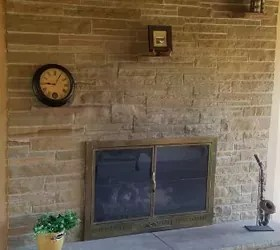 Painted Brick Fireplaces Painting Brick Fireplaces Brick How To Remove 3 Brick Shelves Above The Fireplace | Hometalk