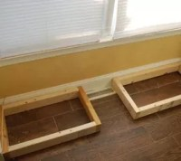 DIY Window Bench Seat With Drawer Storage | Hometalk