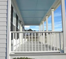 Our New Haint Blue Porch Ceiling Hometalk
