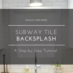 Kitchen Backsplash Photos Lighting Led Under Cabinet You Might Want To Rethink Your When See What Subway Tile Step By Tutorial Part One How