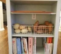 Extend Your Kitchen Island With an Open Bookshelf | Hometalk