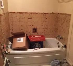 Tiny Attic Bathroom Gets a DIY Update  Hometalk