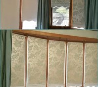 How To Design Beautiful Roller Shades With Wallpaper ...