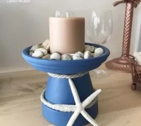 Coastal Candle Holder | Hometalk