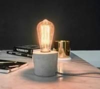 Faux Neon Cement Lamp | Hometalk