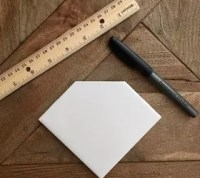 Ceramic Tile Diamond Coasters