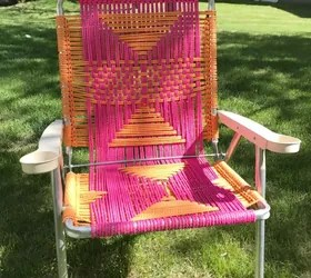 Macrame Lawn Chair  Hometalk