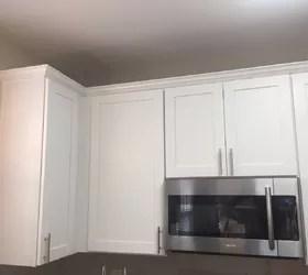 kitchen cabinet crown molding outdoor doors make them fancy hometalk