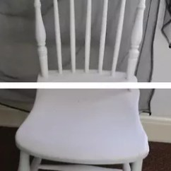 Diy Painted Windsor Chairs Synthetic Adirondack Hand Chair Hometalk