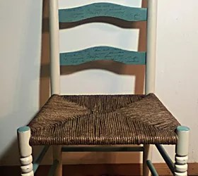 white ladder back chairs rush seats antique dining chair styles weaving a seat with fiber hometalk fiberrush