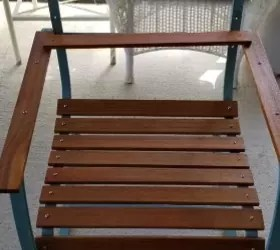1970 Wood Patio Furniture - Design