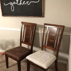 Reupholster Kitchen Chair French Towels How To Chairs Hometalk