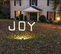 How to Make a Joy PVC Sign DIY Outdoor Christmas ...