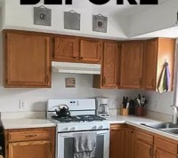 How To Paint Kitchen Cabinets Without Sanding DIY | Hometalk