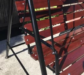 ideas on how i can fix a patio swing