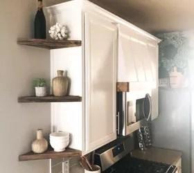 diy corner shelves hometalk