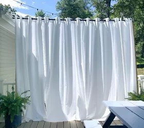 floating outdoor curtains hometalk