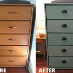Diy Beachy Weathered Painted Dresser Makeover Hometalk