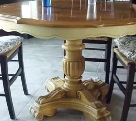 Refurbished Craisglist Kitchen Table With Annie Sloan