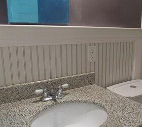 beadboard bathroom re do