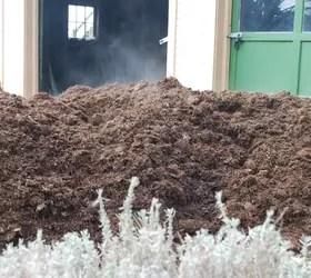 Applying Mulch Around Trees