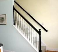 Mini Makeover - Paint Your Banister Black   Hometalk