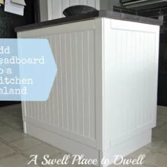 Beadboard Kitchen Island Country French Kitchens Adding To A Hometalk Painting Woodworking Projects