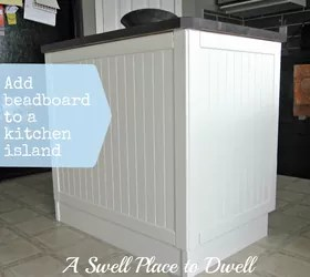 beadboard kitchen island rustic hardware adding to a hometalk painting woodworking projects
