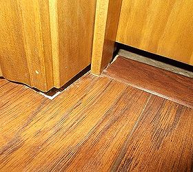 Cutting Door Jambs For Laminate Flooring
